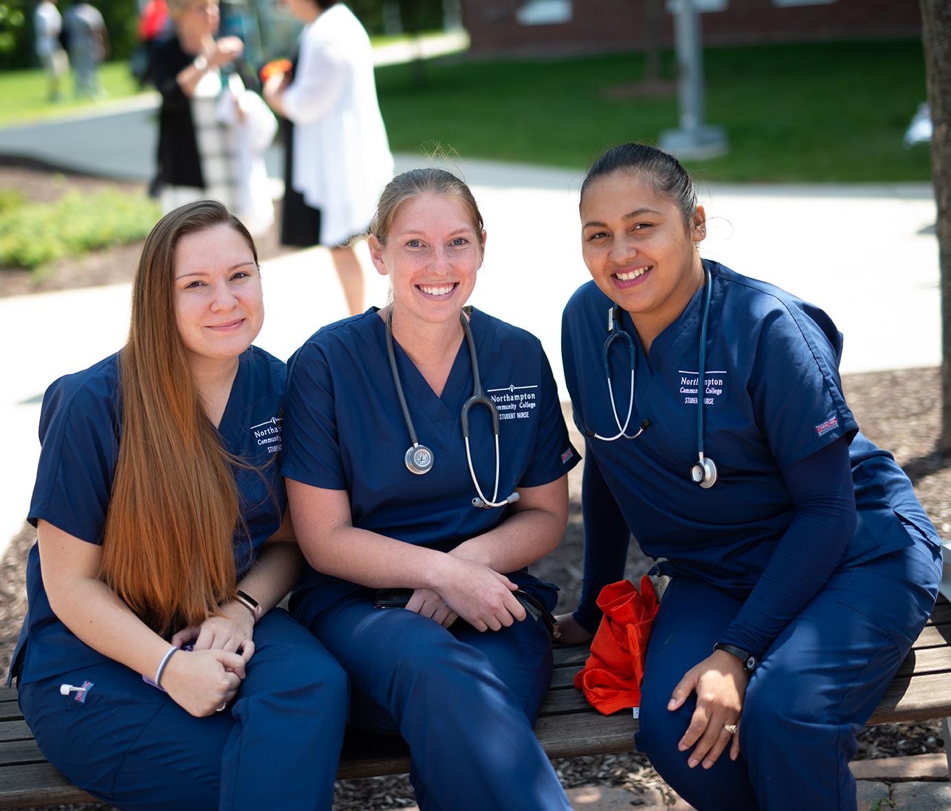 Nursing Students at NCC